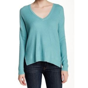 Teal Joie V-neck Sweater (XS)